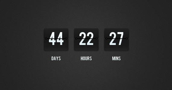 Countdown Timer landing page