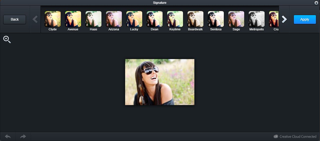 Landing Page image editor