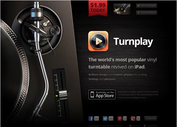 turnplay landing page