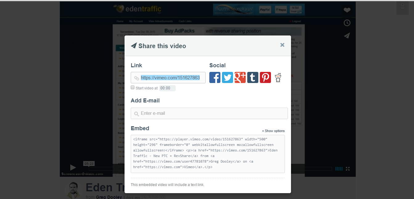 How to autoplay your youtube or vimeo video on your Landing Page