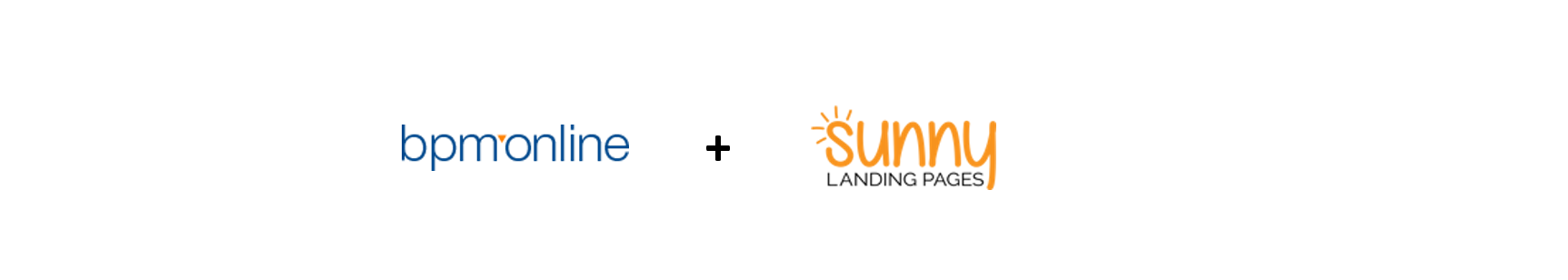 Bpmonline and sunny landing pages integration