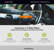 Insurance Policies HTML Template