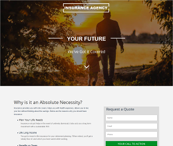 Insurance Agency HTML Template