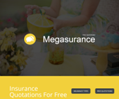 Free Insurance Quotes HTML Template