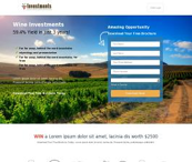 Wine HTML Template
